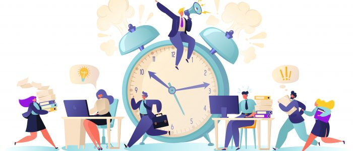 clock, cutting costs, time, work and workload